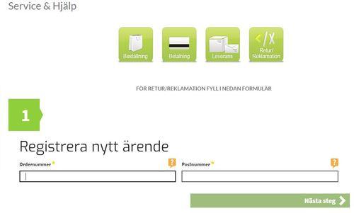 Online-service på rätt sätt hos Teknikexperten.