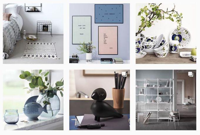 Designonline.se inspirerar på Instagram.