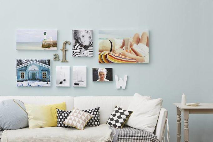 Du väljer själv hur du vill trycka dina foton hos Photobox.se.