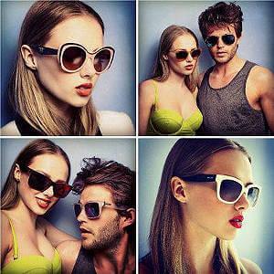Ett litet smakprov på vad du hittar hos Sunglasses-shop.se