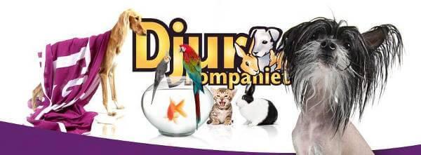 Djurkompaniet är din djurbutik på nätet