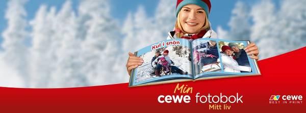 Cewes populäraste produkt: fotoboken.