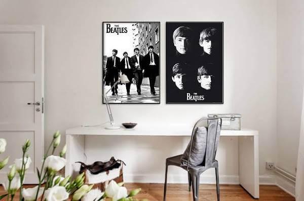 Varför inte ineda sitt hem med det populära bandet The Beatles?
