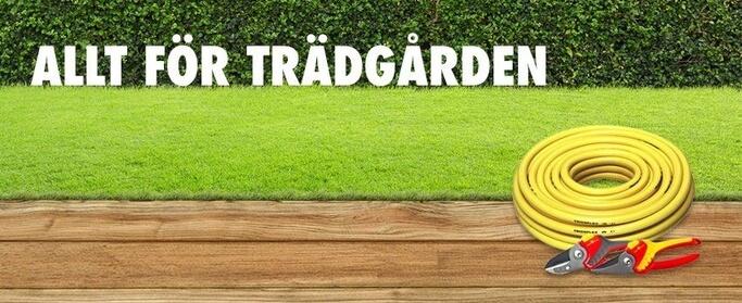 Trädgårdstillbehör hittas hos Toolon.se.