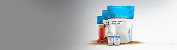 Myproteins egna produkter