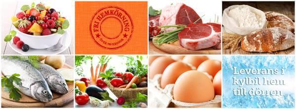 mat.se, hemkörning av mat