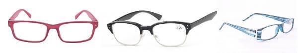 Några av de många glasögonparen hos Se och Le