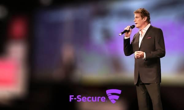 David Hasselhoff har varit med och stött kampanjen för digital frihet