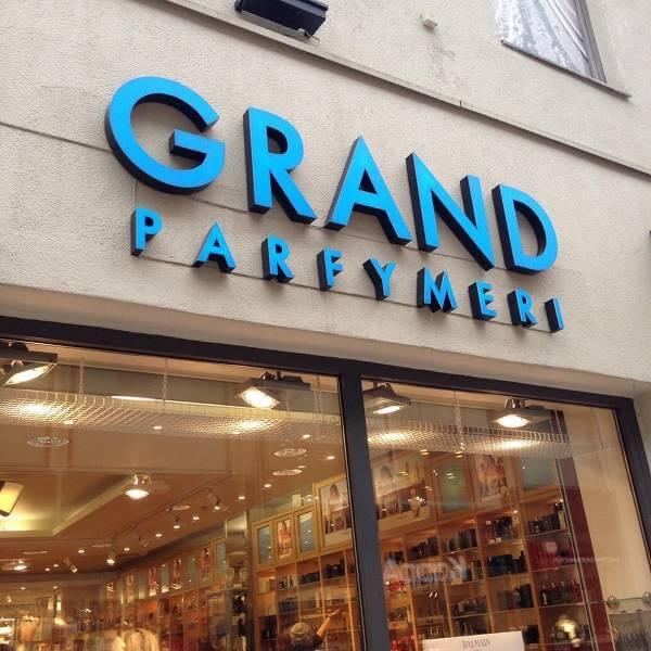 En av Grand Parfymeris butiker