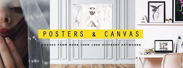 Posters och Canvas hos Voked.