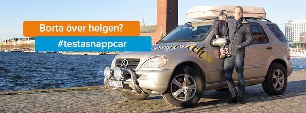 På plattformen kan användare hyra ut sin bil när de inte behöver den.