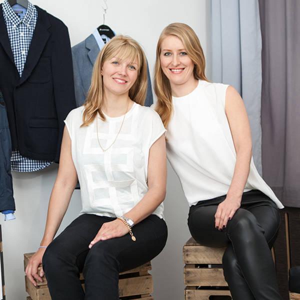 Anna Alex och Julia Bösch startade 2012 Outfittery och sedan dess har företaget bara vuxit.