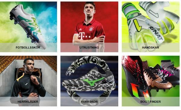Fullt med produkter för träning finns hos Goalinn till humana priser.