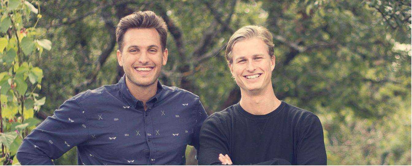 Felix Bengtsson och Robin Rendahl heter de drivna entrepenörerna bakom Gastrofy.