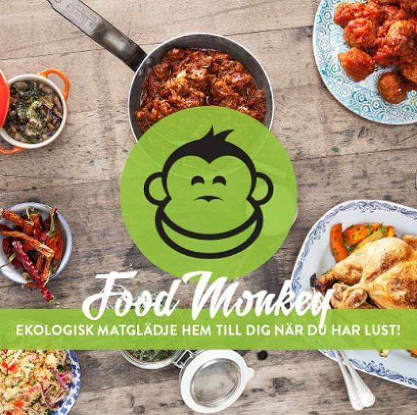 Matkassar med ekologiskt innehåll levereras hem till dörren helt gratis hos Food Monkey.