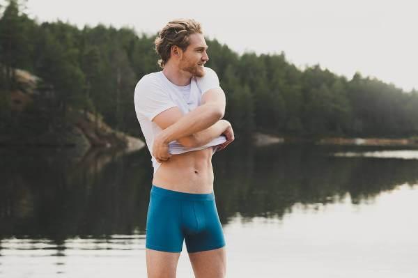 Nordiska underkläder med bekvämlighet i fokus.