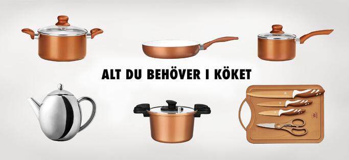Vare sig man letar köksprodukter eller trädgårdsredskap hittar man det hos Toolon.