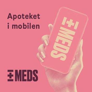 Beställ dina läkemedel i mobilen med MEDS.
