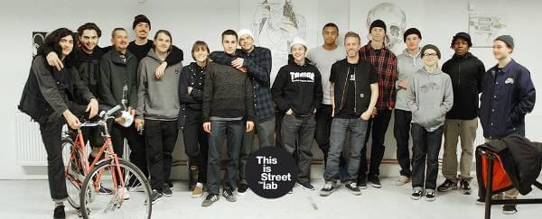 Teamet bakom Streetlabs välsorterade webbutik