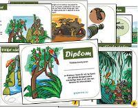 Ett djungeldiplom för duktiga djungelpatruller