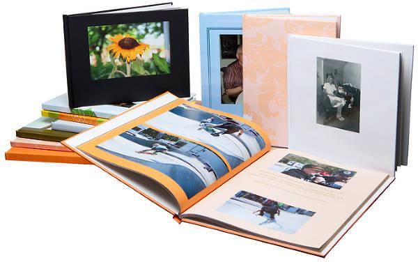 Exempel på Solentros fotoböcker