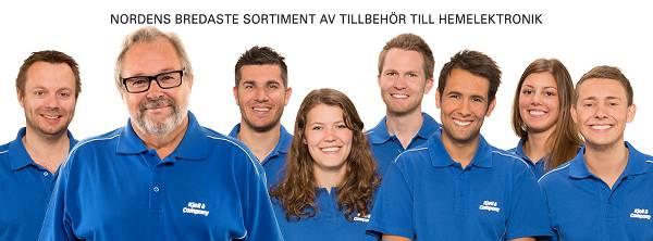 Glad personal hos Kjell & Company
