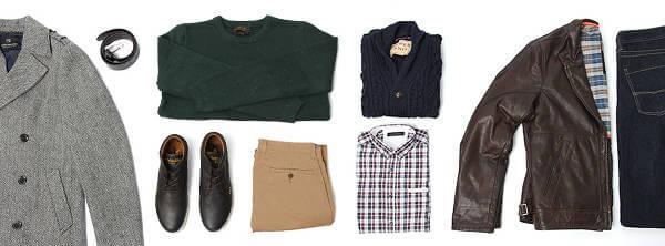 Alla möjliga stilar erbjuds i Outfitterys sortiment.