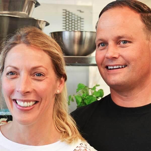 Heléne och Jens driver tillsammans Fraiche Catering sedan många år tillbaka.