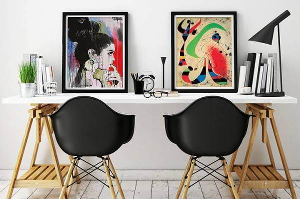 Vilket rum i hemmet man än söker konst till finns det att hitta hos Europosters.