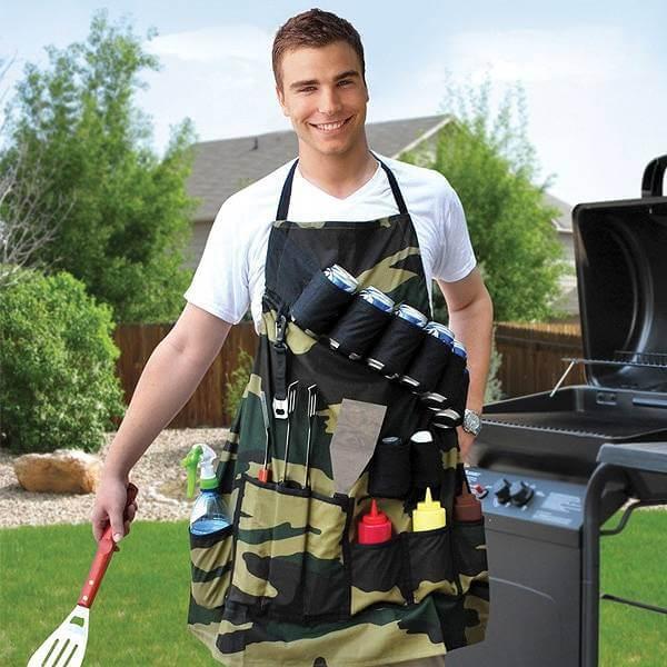 Vad sägs om det här grill- och ölbältet lagom till sommarens barbeque?