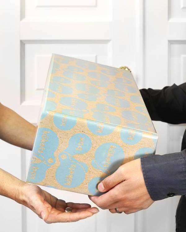 En hemlig box fylld av läckra ting.