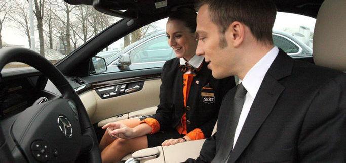 Biluthyrning för företagskunder är möjligt hos Sixt biluthyrning.