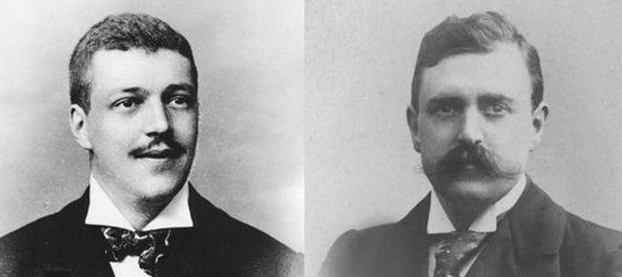 Bröderna Philips.