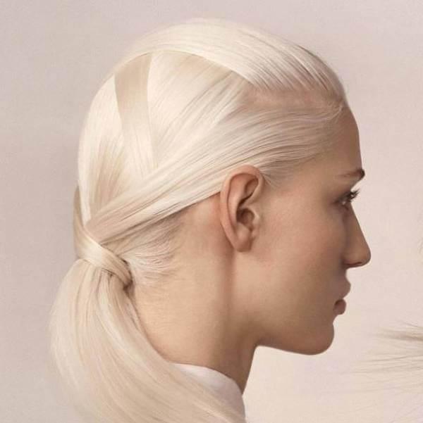 Baresso har allt för ett glänsande hår.