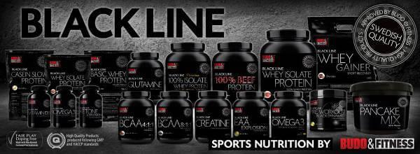 Budo & Fitness kosttillskott Black Line