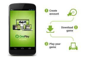 OnePlay funkar så här lätt!