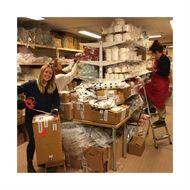 Packning för leverans pågår!