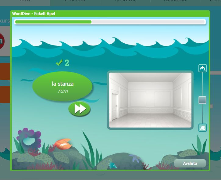 Ett kul sätt att lära sig språk på är att spela spel. Detta går att göra hos Worddive.