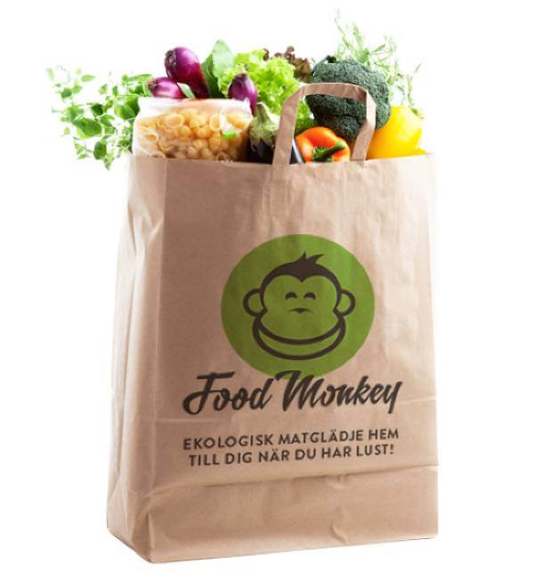 Food Monkeys matkasse