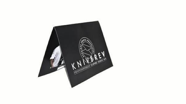 Presentkort från Knivbrev.