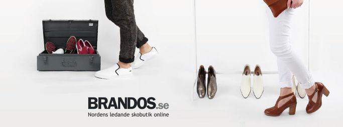 Brandos - ledande livsstilbutik i Norden med trendiga skor online.