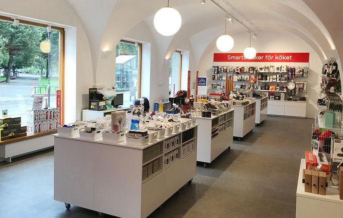 SmartaSaker finns både som online-shop och som fysisk butik.