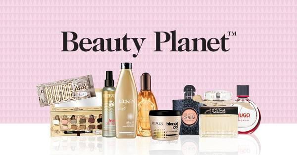 Beautyplanet har tusentals produkter för den som är ute efter smink eller skönhet.
