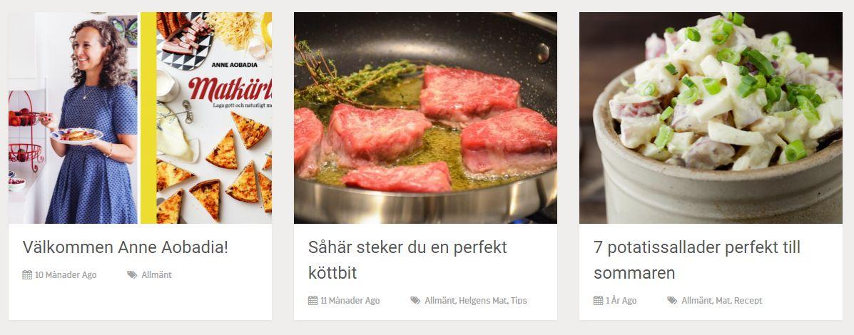 Gastrofys blogg skänker inspiration.
