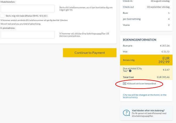 Otel.com rabattkod.