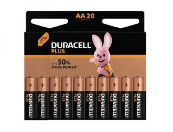 batterier från Duracell