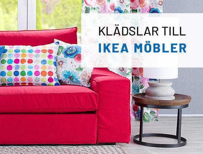 Hitta klädsel till din IKEA-möbel hos Dekoria.