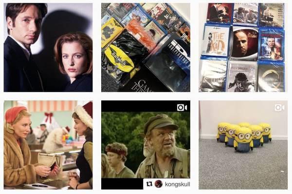 Discshop finns på Instagram.