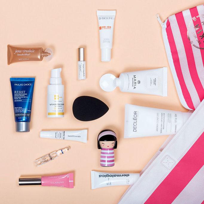 Produkter från Skincitys sortiment.
