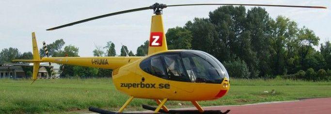 Alltid drömt om att åka helikopter? Zuperbox gör fantasi till verklighet!